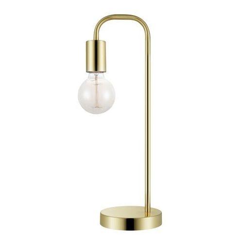 Lampa stojąca Ghlin 1-punktowa E27 złota