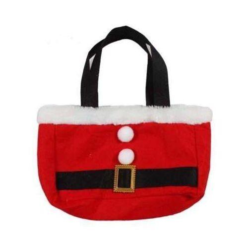 Torebka świąteczna mikołaj 26 x 31 cm - ozdoby i dekoracje świąteczne od producenta Gama ewa kraszek