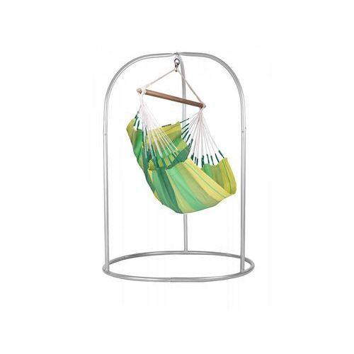 La siesta Zestaw hamakowy: fotel hamakowy orquidea ze stojakiem romano, zielony orc14roa168