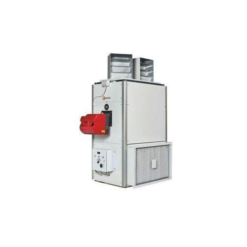 Nagrzewnica olejowa lub gazowa stacjonarna SF 500 - wersja pionowa 465 kW