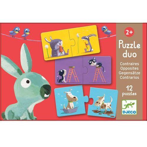 Djeco , puzzle duo dla maluchów