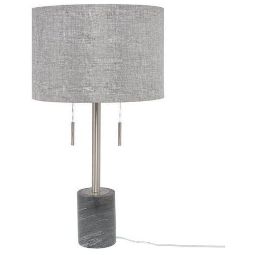 Lampa stołowa szara 71 cm ARPA (4251682201285)