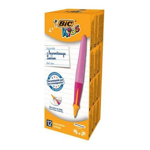 Długopis BIC Beginners Twist różowy x1