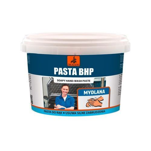 Pasta rąk BHP 0.5 kg mydlana DRAGON (5903649008138)