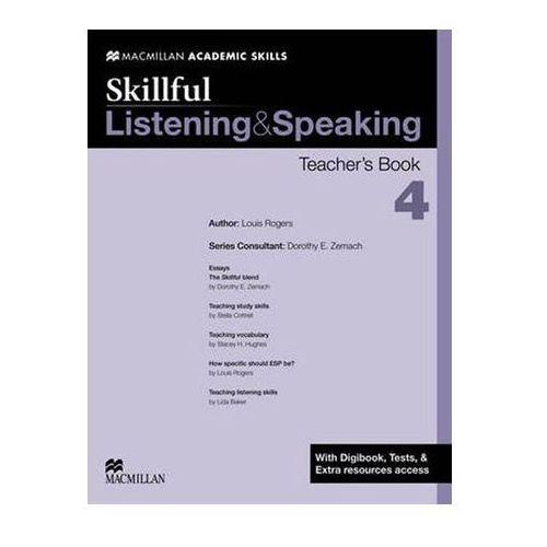 Skillful 4 Listening and Speaking. Książka Nauczyciela + Digibook, Louis Rogers