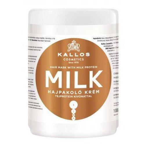 Kallos kjmn milk maska do włosów z proteinami mlecznymi 1000ml