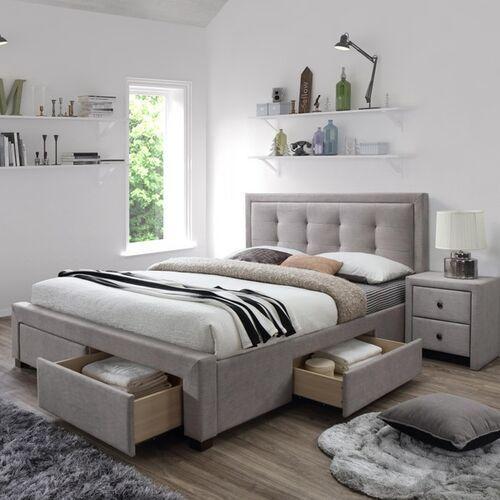 Eufemia łóżko tapicerowane 160x200 cm z szufladami
