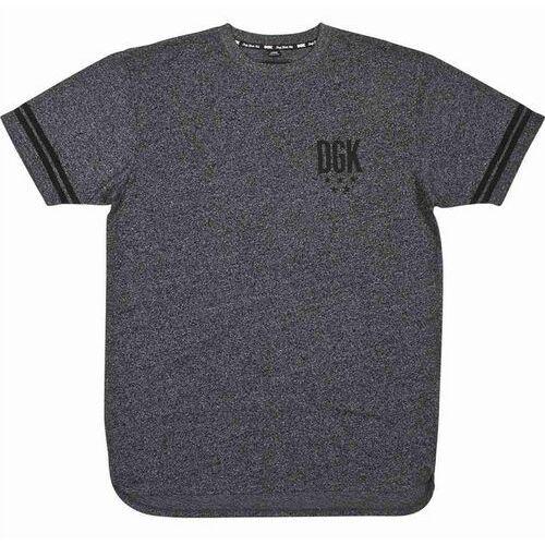 Koszulka - never enough custom black heather (black heather) marki Dgk