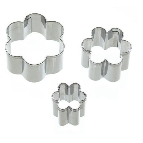 Foremki do ciastek kwiatki 3 szt. marki Kitchen craft