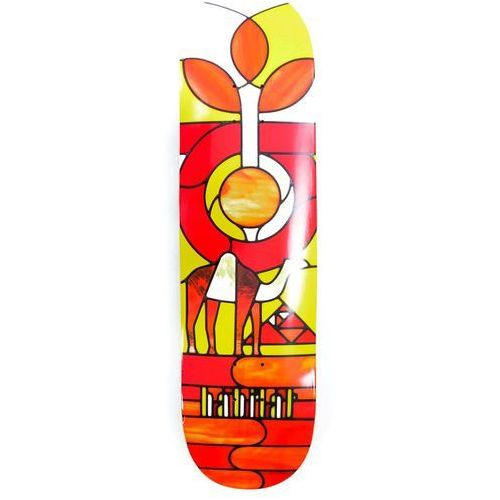 deska HABITAT - Stained Glass Angel Red (CERVENA) rozmiar: 8.125