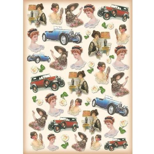 Papier klasyczny do decoupage 50x70 cm - 344 marki Stamperia