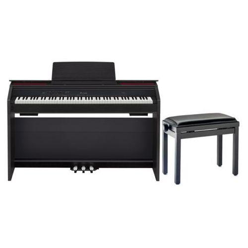 Casio PX-860 BK - PIANINO CYFROWE + ława stagg + Instrukcja PL z kategorii Fortepiany i pianina