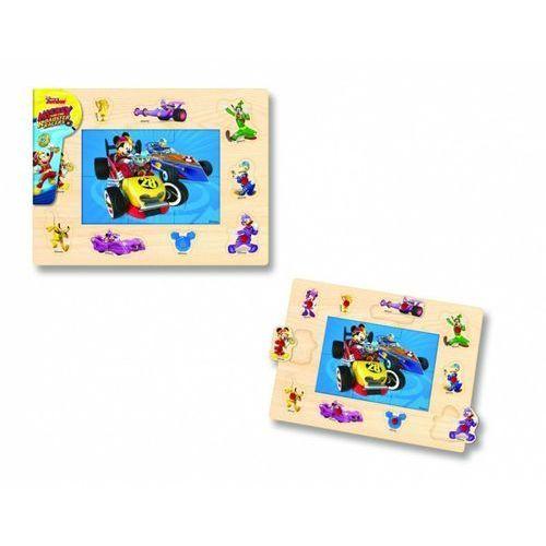 Playme Układanka drewniana z pinezkami myszka miki (5907791576309)