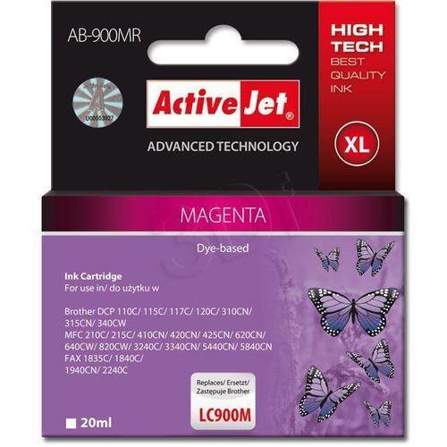 Activejet tusz AB-900MR (LC-900M) Magenta (refill) Darmowy odbiór w 20 miastach!, kolor Magenta