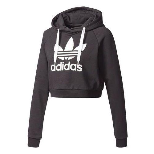 Bluza z kapturem damska originals trefoil crop - bp9478, Adidas
