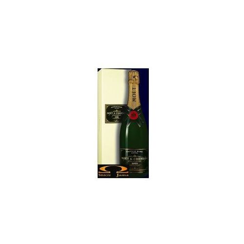 Szampan  champagne millesime blanc vintage wyprodukowany przez Moët & chandon