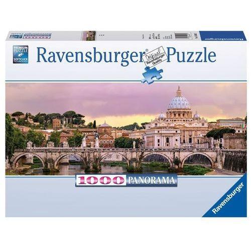 Puzzle 1000 elementów - Mosty Rzymu Panorama, 5_519960