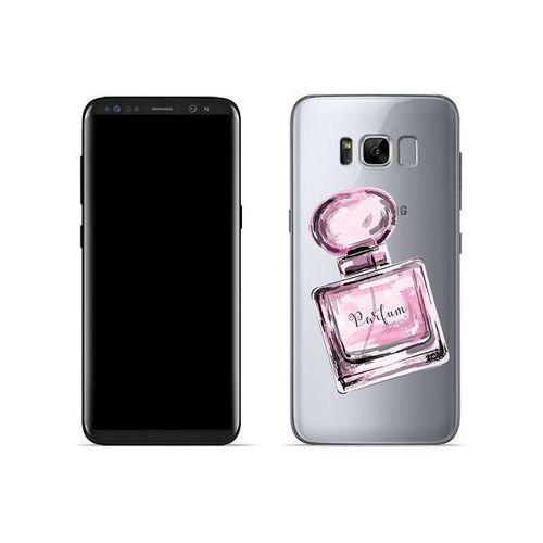 Etuo crystal design Samsung galaxy s8 - etui na telefon crystal design - różowe perfumy
