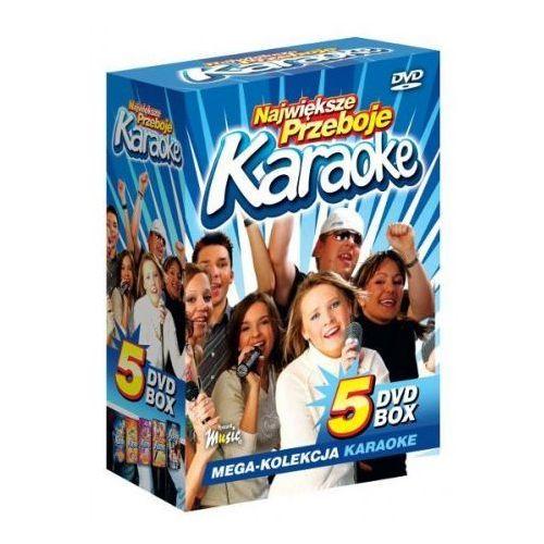 Ryszard music Największe przeboje karaoke vol. 1 - mega kolekcja karaoke (5 płyt dvd)