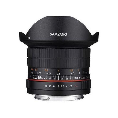 Samyang 12mm t2.2 cine (fuji) - przyjmujemy używany sprzęt w rozliczeniu | raty 20 x 0%