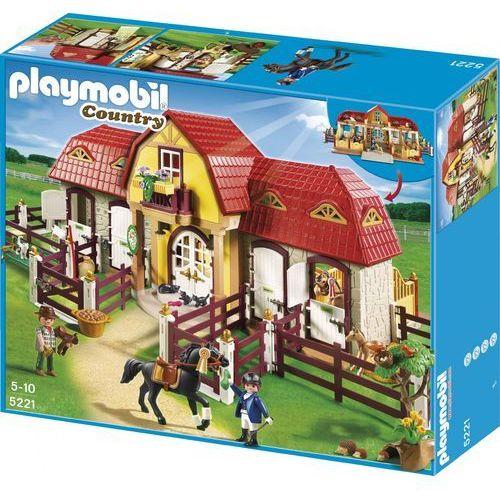 Playmobil COUNTRY Duża stadnina koni z boksami 5221 - BEZPŁATNY ODBIÓR: WROCŁAW!