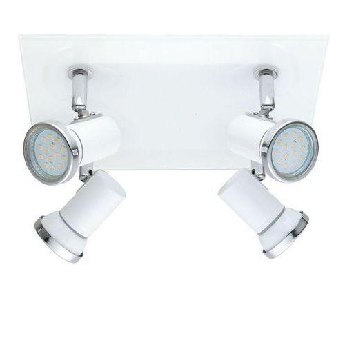 TAMARA-Plafon 4 spots nastawne do łazienki Stal & Szkło Dł.26cm, THK-053845