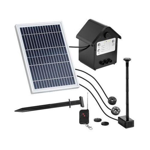 Uniprodo Pompa solarna do oczka wodnego - fontanna - 250 l/h - 0,8 m UNI_PUMP_12 - 3 LATA GWARANCJI