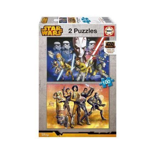 Educa 2x100 elementów star wars rebels
