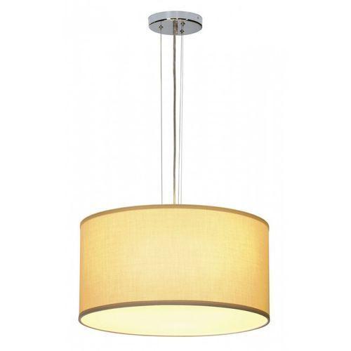 Soprana lampa wisząca pd-5, okrągła, beżowa tkanina, 3x e27 marki Slv