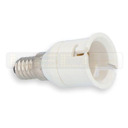 Przejściówka żarówki (adapter) E14 > B22 (5901583246296)