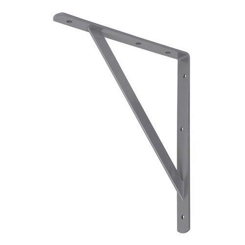 Wspornik metalowy Form Ultim 250 x 300 mm szary (3663602765073)