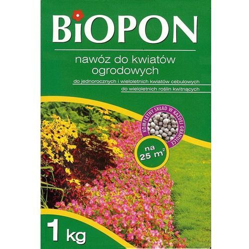 BIOPON nawóz granulowany do kwiatów ogrodowych 1 kg (5904517024908)