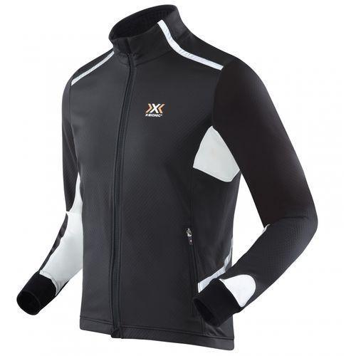 running winter spherewind kurtka do biegania mężczyźni light jacket men czarny kurtki do biegania marki X-bionic