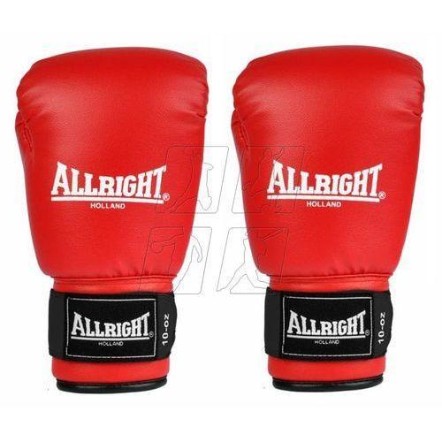 Rękawice bokserskie Allright 10oz czerwone, kup u jednego z partnerów