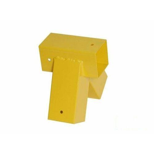 Łącznik do belki 90x90 mm, 90° - żółty - sprawdź w wybranym sklepie