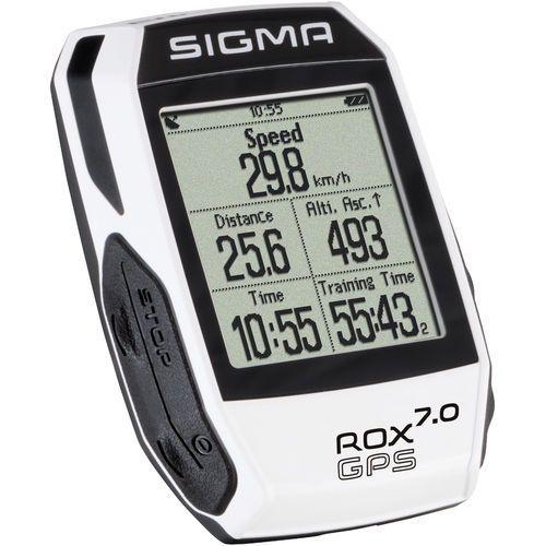 Sigma licznik rox gps 7.0 biały (4016224010059)