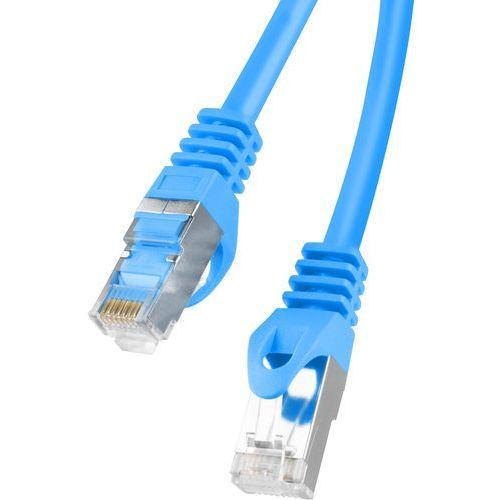 Lanberg Kabel sieciowy lan rj45 - rj45 5 m niebieski