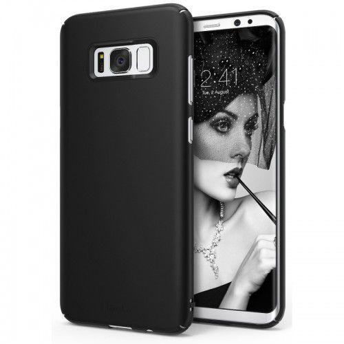 Cienkie Etui Ringke Slim Samsung S8 - Czarne, 8809525015207