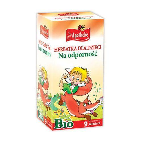 bio herbatka dla dzieci na odporno, 20 torebek marki Apotheke