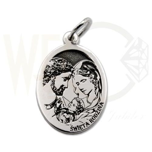 Węc - twój jubiler Medalik srebrny święta rodzina med-sw-rodz-02