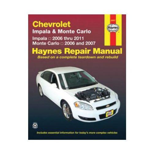 319282Chevrolet Impala & Monte Carlo (06 - 11) (USA)