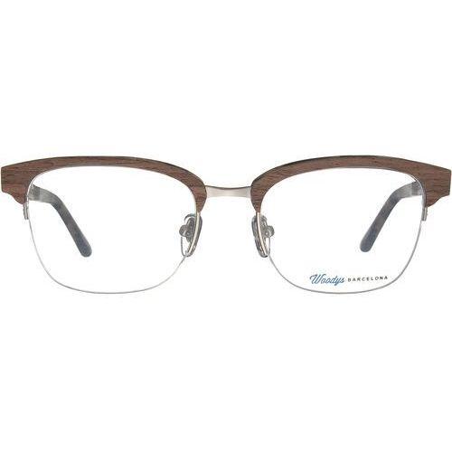 psycho 02 okulary korekcyjne + darmowa dostawa i zwrot marki Woodys barcelona