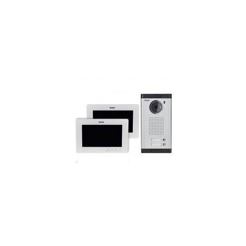 """Wideodomofon Secutek VDP316+CAM211-2 - 2x7"""" LCD; noktowizor"""