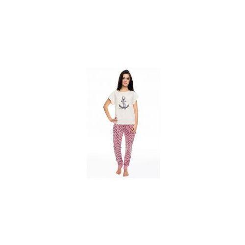 Piżama damska z krótkim rękawem Rossli SAL-PY-1061