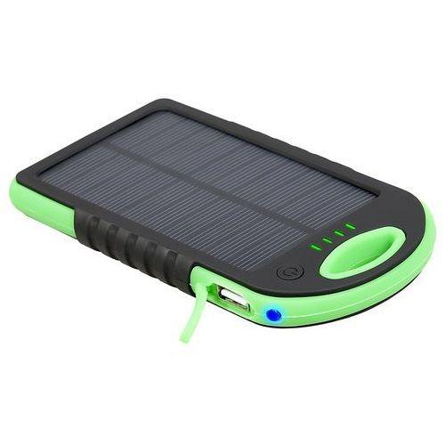Powerbank solar mobile battery 5000 mah zielony (trabat45072) darmowy odbiór w 21 miastach! marki Tracer