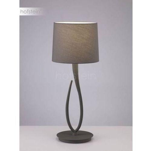 Mantra Lua lampa stołowa Siwy, 1-punktowy - Nowoczesny - Obszar wewnętrzny - Lua - Czas dostawy: od 10-14 dni roboczych (8435153236884)
