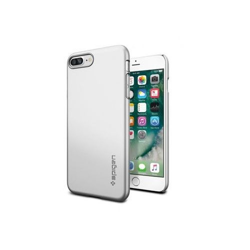 Spigen Apple iphone 8 plus - etui na telefon thin fit - satin silver