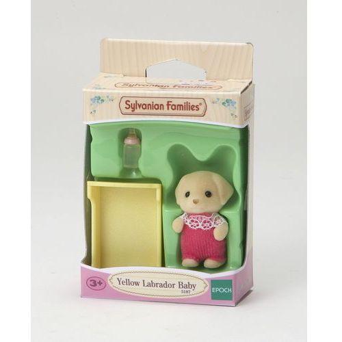 Sylvanian Families, dziecko biszkoptowych labradorów, zestaw z figurką, 5187, kup u jednego z partnerów