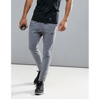 dri-fit fleece joggers in grey 742212-065 - grey marki Nike training