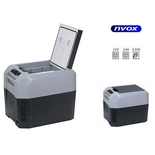 Nvox Lodówka turystyczna samochodowa 35l termoelektryczna 12v 24v 230v